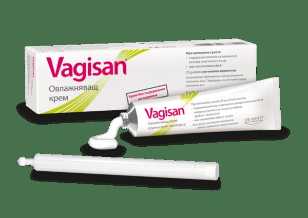Вагизан Овлажняващ крем 25г (Vagisan)