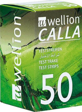 Тест ленти Wellion CALLA 50 броя