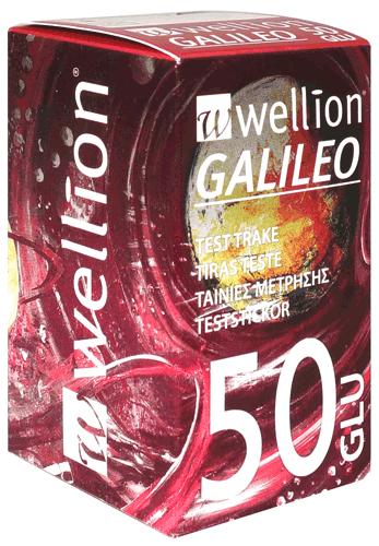 Тест ленти за Кръвна захар за глюкомер Wellion GALILEO 50 броя