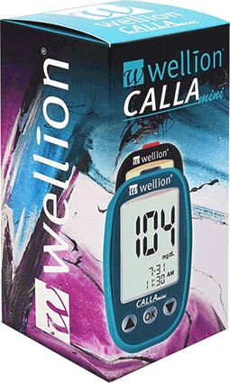 Глюкомер за кръвна захар Wellion CALLA Mini с 50 броя тест ленти