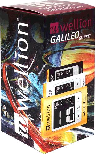 Глюкомер за кръвна захар и Кетони Wellion GALILEO с 50 броя тест ленти за кръвна захар