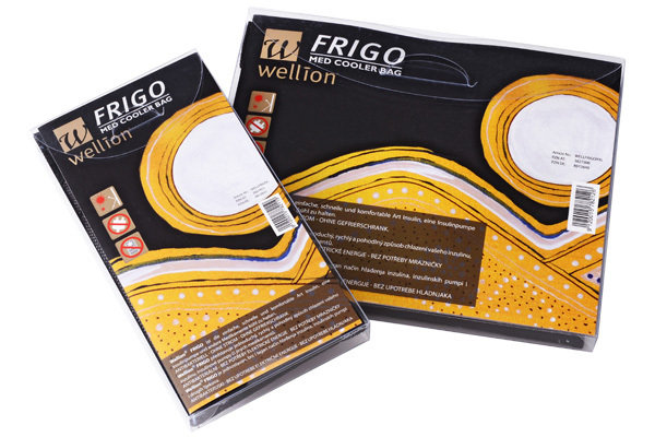Охлаждаща чанта Wellion Frigo за лекарства и инсулин