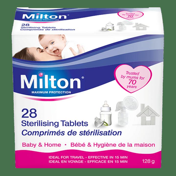 Таблетки за студена стерилизация Milton 28 броя