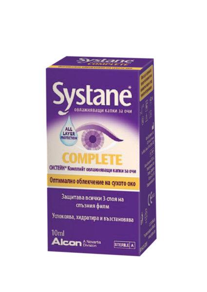 Систейн Комплийт капки за очи 10мл (Systane Complete)