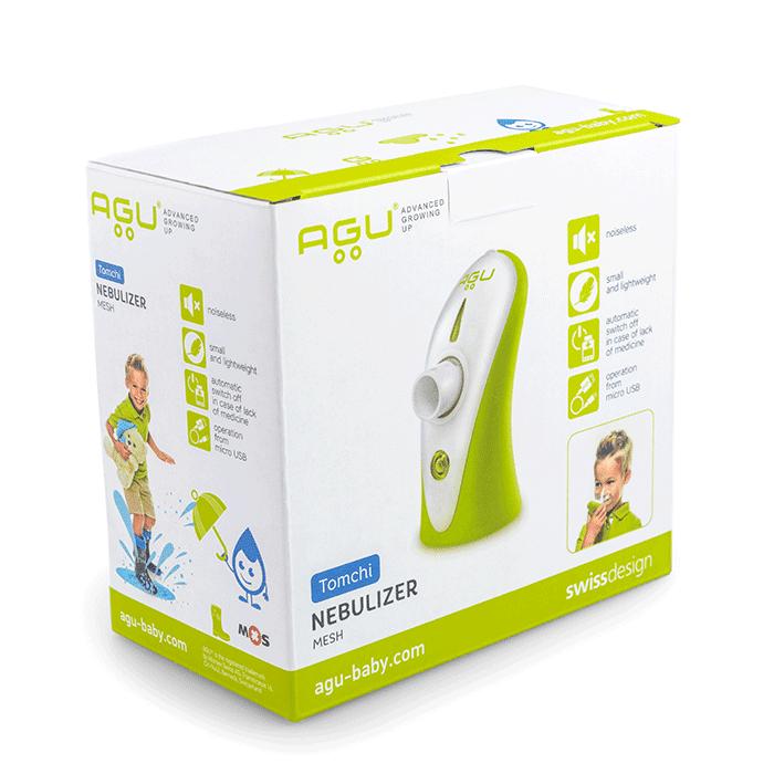AGU Balloon Компресорен инхалатор за деца-Copy