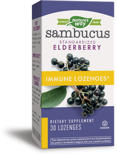 Самбукус Имун (Sambucus Immune) таблетки за смучене x30