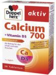 Допелхерц Актив Калций 700, Витамин Д3 и К таблетки x30 (Doppelherz Calcium 700, Vitamin D3+K)