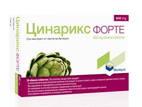 Цинарикс Форте таблетки 600мг x30 (Cynarix Forte)