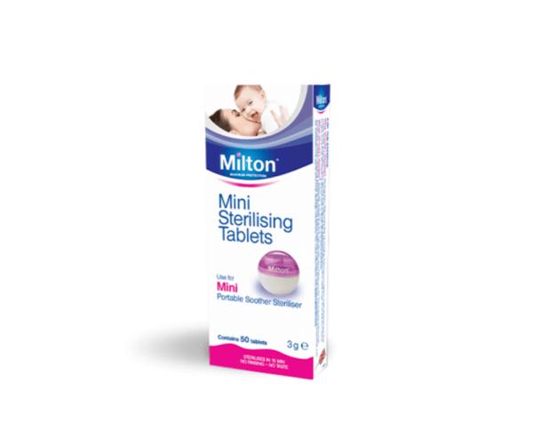 Milton мини стерилизиращи таблетки x50