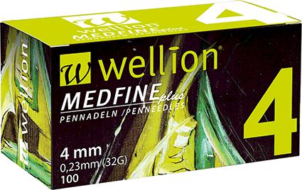 Игли за инсулинова писалка Wellion Medfine Plus x100
