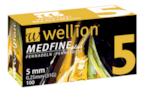 Игли за инсулинова писалка Wellion Medfine Plus 5мм 31G