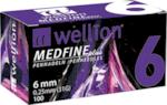 Игли за инсулинова писалка Wellion Medfine Plus 6мм 31G