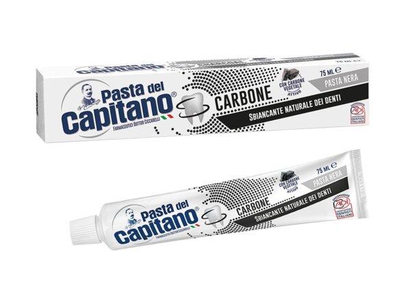 Pasta Del Capitano Паста за зъби с активен въглен 75мл