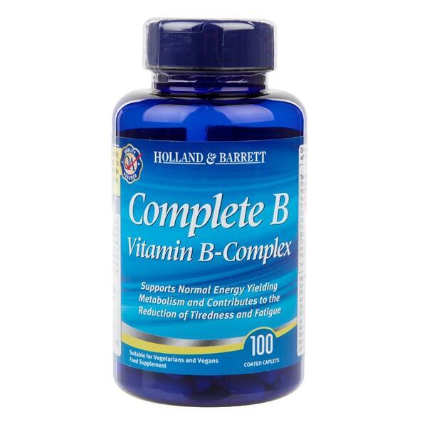 Holland & Barrett Витамин Б Комплекс таблетки x100
