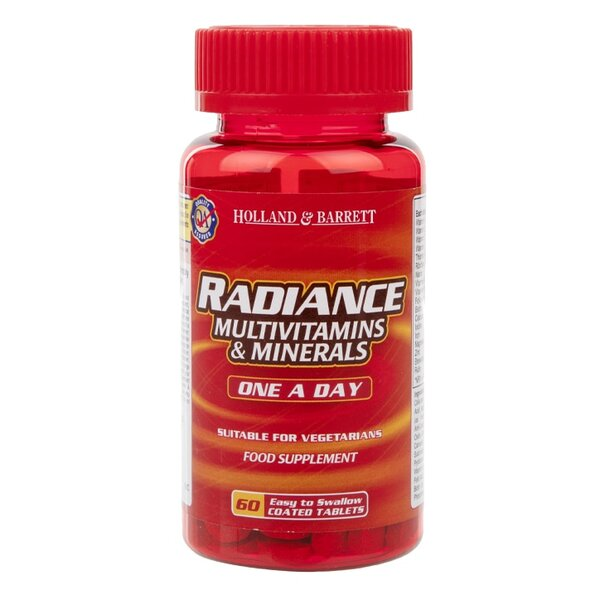 Holland & Barrett Мултивитамини и минерали Radiance таблетки x60