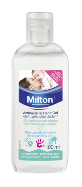 Milton Антибактериален гел за ръце 100мл