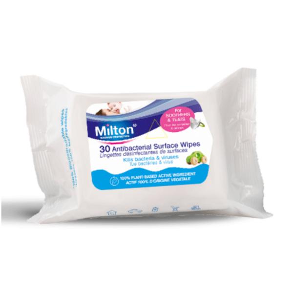 Milton Антибактериални мокри кърпички за повърхности