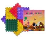 Ортопедични килими ОРТО ПЪЗЕЛ Микс Таралежи (Ortho Puzzle Hedgehogs)