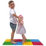 Ортопедични килими ОРТО ПЪЗЕЛ Микс Първи стъпки (Ortho Puzzle First Steps)