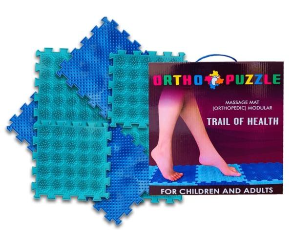 Ортопедични килими ОРТО ПЪЗЕЛ Микс Пътека на Здравето (Ortho Puzzle Trail of Health)