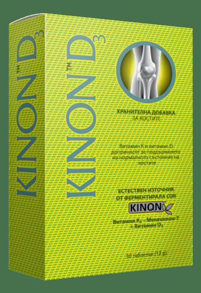 Кинон Д3 таблетки x30 (Kinon D3)