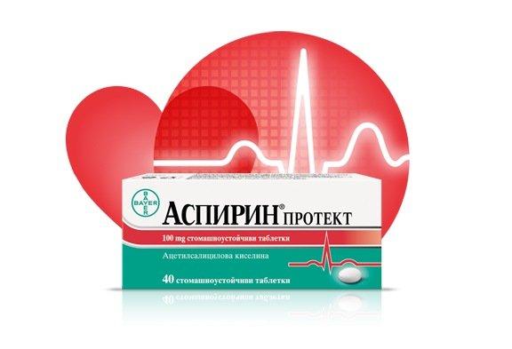 Аспирин (Aspirin) Протект таблетки x40
