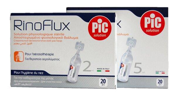 Ринофлукс физиологичен разтвор за Инхалации x20