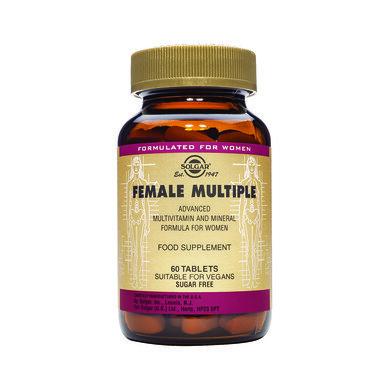 Солгар Мултивитамини за Жени таблетки x60 (Solgar Female Multiple)