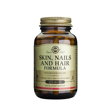 Солгар Формула за Кожа, Нокти и Коса таблетки x60 (Solgar Skin, Nail and Hair)