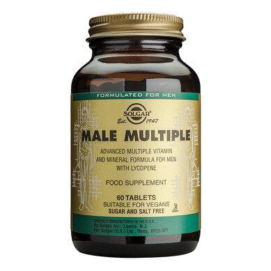 Солгар Мултивитамини за Мъже таблетки x60 (Solgar Male Multiple)