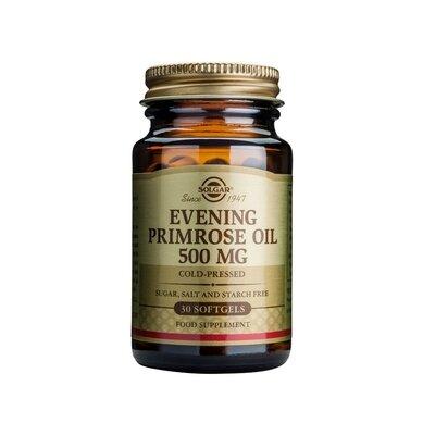 Солгар Масло от Вечерна Иглика капсули 500мг x30 (Solgar Evening Primrose oil)