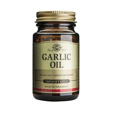 Солгар масло от Чесън капсули x100 (Solgar Garlic Oil)