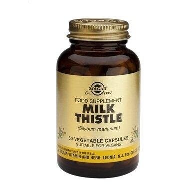 Солгар Бял трън капсули x50 (Solgar Milk Thistle)