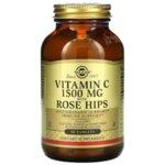 Солгар Витамин С 1500мг с Шипки таблетки x100 (Solgar Vitamin C with Rose Hips)