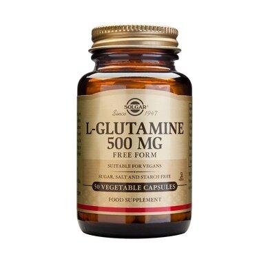 Солгар Л-Глутамин капсули 500мг x50 (Solgar L-Glutamine)