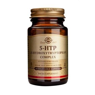 Солгар 5-HTP (5-хидрокси-триптофан, серотонин) капсули 100мг x30