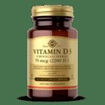 Солгар Витамин Д3 таблетки 2200IU (55мкг) x50 (Solgar Vitamin D)