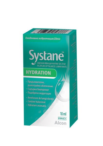 Систейн Хидрейшън капки за очи 10мл (Systane Hydration)