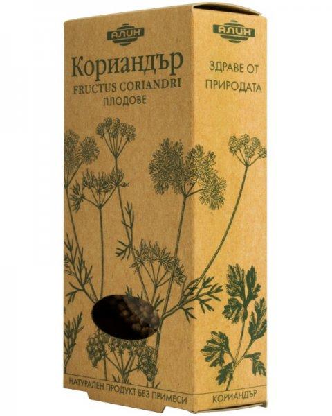 Кориандър плод (Fructus Coriandri) 30г Алин