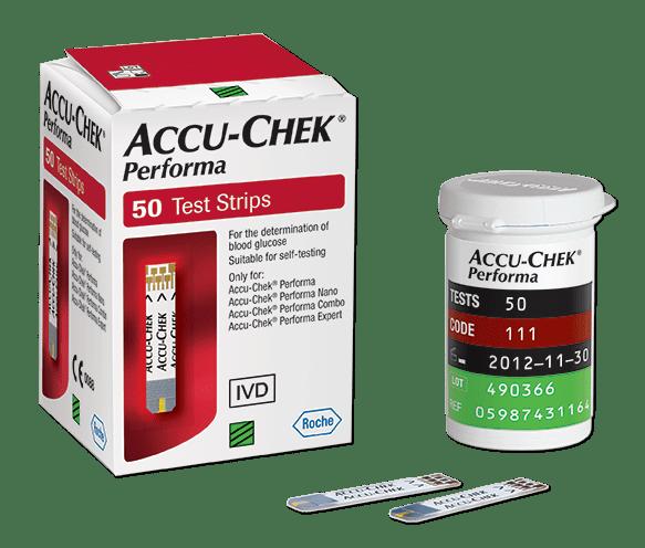 Тест ленти за глюкомер Accu-chek Performa (Аку-чек Перформа) 50 бр.