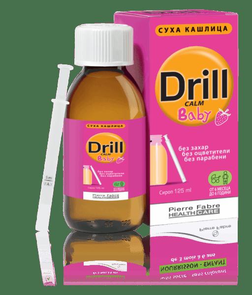 Дрил Калм (Drill Calm) Бейби сироп 125мл