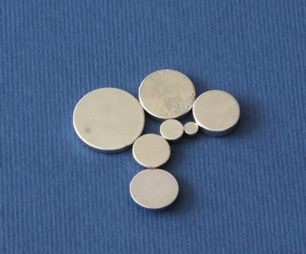 Магнити Неодимови с кръгла форма (дискове)
