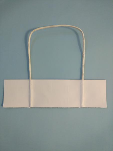 Хартиени дръжки - усукани