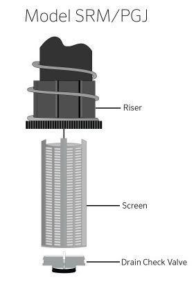 Антидренажен клапан за Разпръсквач SRM