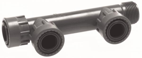 """Колектор за клапани 3-пътен холендров 1"""" Ж"""