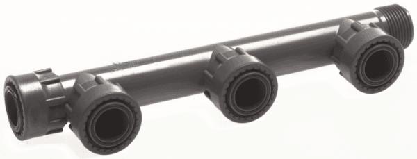 """Колектор за клапани 4-пътен холендров 1"""" Ж"""