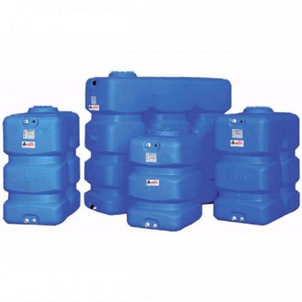 Вертикален призматичен резервоар за вода CP - 500 L