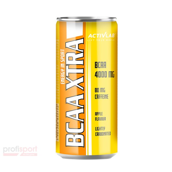 BCAA XTRA DRINK CAFFEIN CAN - стек 24бр.