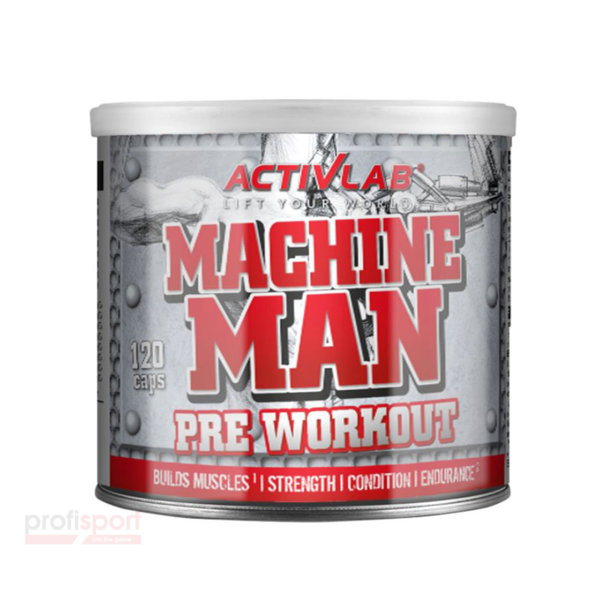 MACHINE MAN PWO