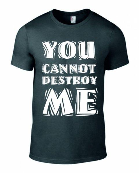 Тениска You cannot destroy me K-M-147